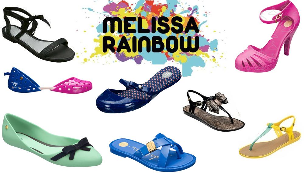 580d56ae4c Rainbow – Preview Melissa Verão 2013 · maio30. Confira alguns modelos ...