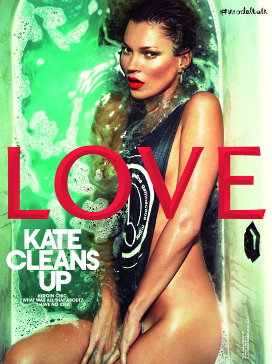 Kate Moss by Mert & Marcus (Love #9 Spring-Summer 2013)