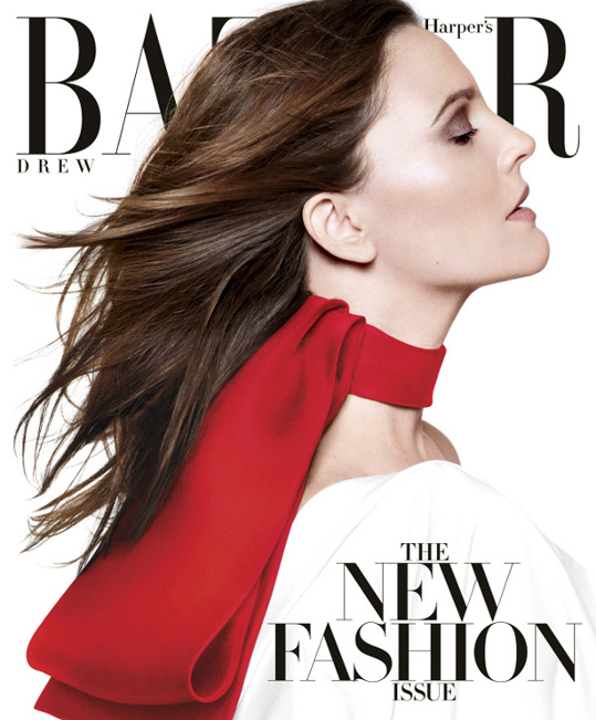 US Harper's Bazaar March 2013 Drew Barrymore by Daniel Jackson2