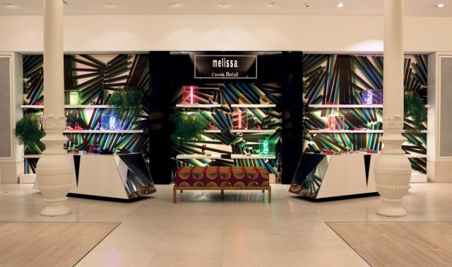 Pop Up Store Melissa - Le Bon Marché.